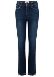 Paige Denim Jacqueline Straight Stepped Hem Jeans - Emilyn