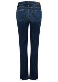 Paige Denim Jacqueline Straight Stepped Hem Jeans - Emilyn