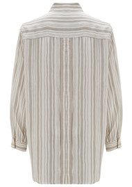 MY SUNDAY MORNING Kino Silk Shirt - Stripe