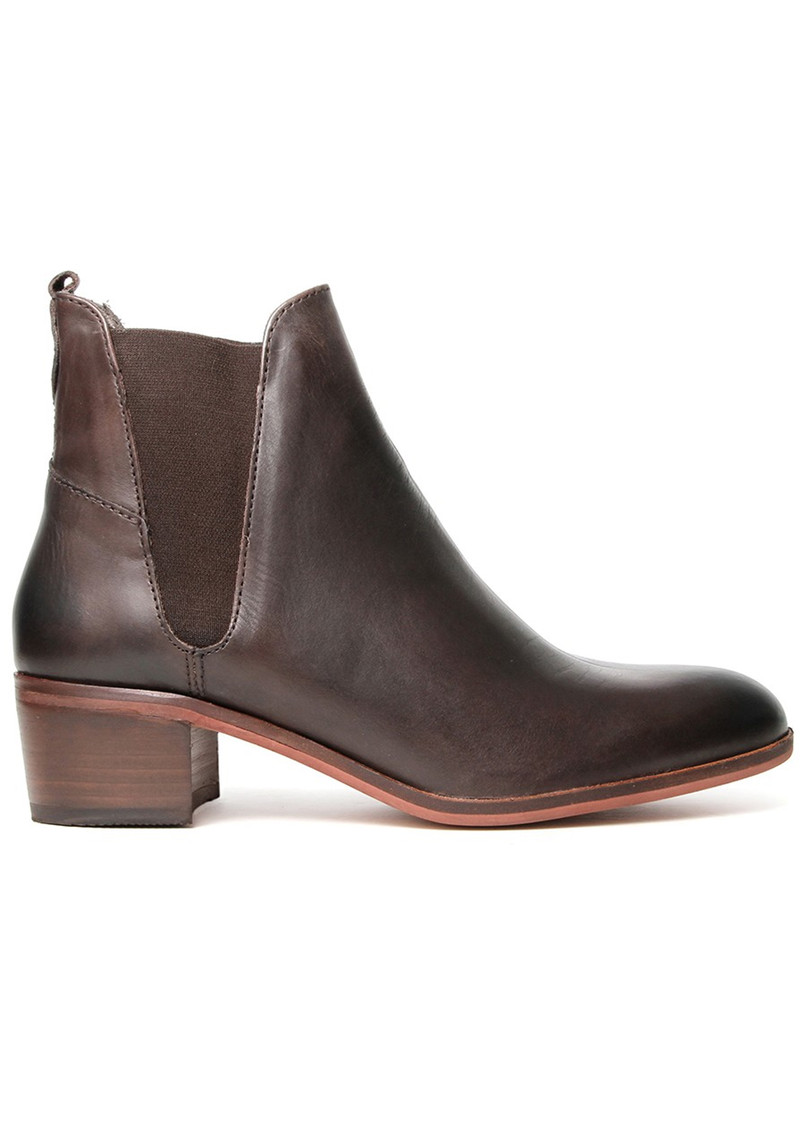 Hudson London Compound Leather Boot - Brown main image