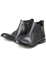Hudson London Algoma Leather Boot - Black