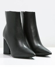 KENDALL & KYLIE Gemma Leather Boot - Black