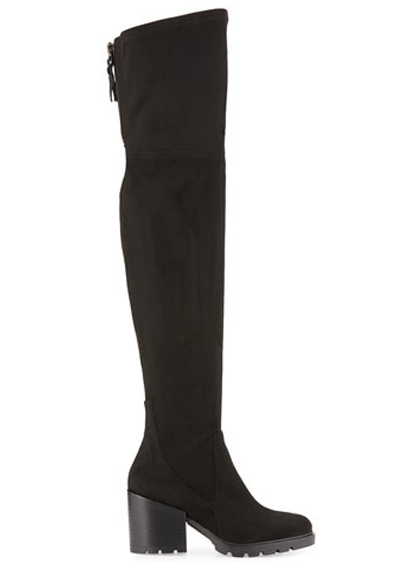 d1659291809 KENDALL   KYLIE Sawyer Suede Over the Knee Boots - Black main image ...