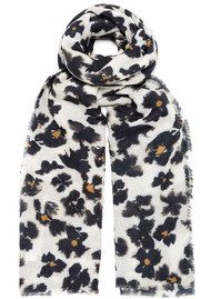 Lily and Lionel Cindy Silk & Wool Scarf - Monochrome