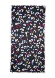 Lily and Lionel Renee Silk Scarf - Black Multi