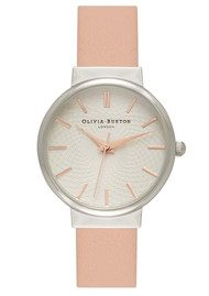 Olivia Burton The Hackney Watch - Dusty Pink, Silver & Rose Gold