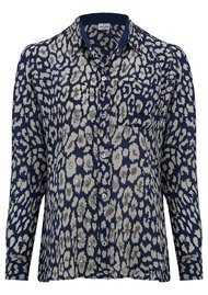 Mercy Delta Goodwood Safari Sequins Shirt - Midnight