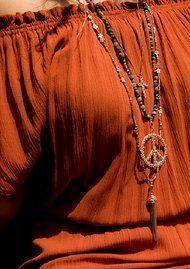 ChloBo Gypsy Dreamer Necklace - Rose Gold