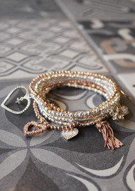 ChloBo Gypsy Dreamer Be Adored Bracelet - Rose Gold