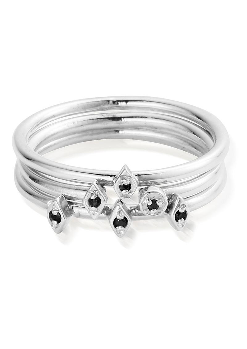 ChloBo Gypsy Dreamer Dark Desires Ring - Silver main image
