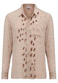 Mercy Delta Goodwood Safari Sequin Shirt - Dusk