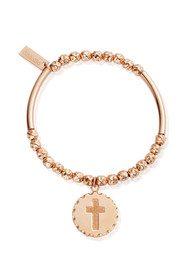 ChloBo Gypsy Dreamer Be Spiritual Bracelet - Rose Gold