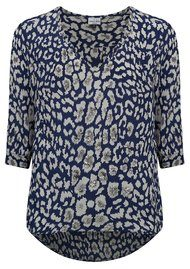 Mercy Delta Parke Safari Sequins Top - Midnight