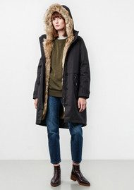 PARKA LONDON Liv 3 in 1 Parka with Gilet - Black