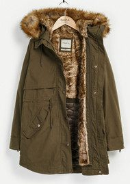 PARKA LONDON Lara Essential Parka - Khaki