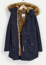 PARKA LONDON Lara Essential Parka - Navy