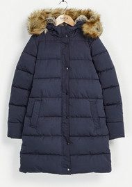 PARKA LONDON Thelma Quilted Parka - Navy
