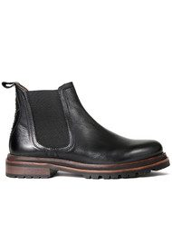 Hudson London Wistow Leather Boot - Black