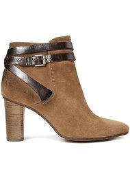 Hudson London Mirla Suede Boots - Tan