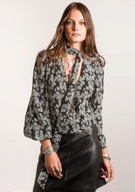 RIXO London Moss Blouse - Daisy Dream Print