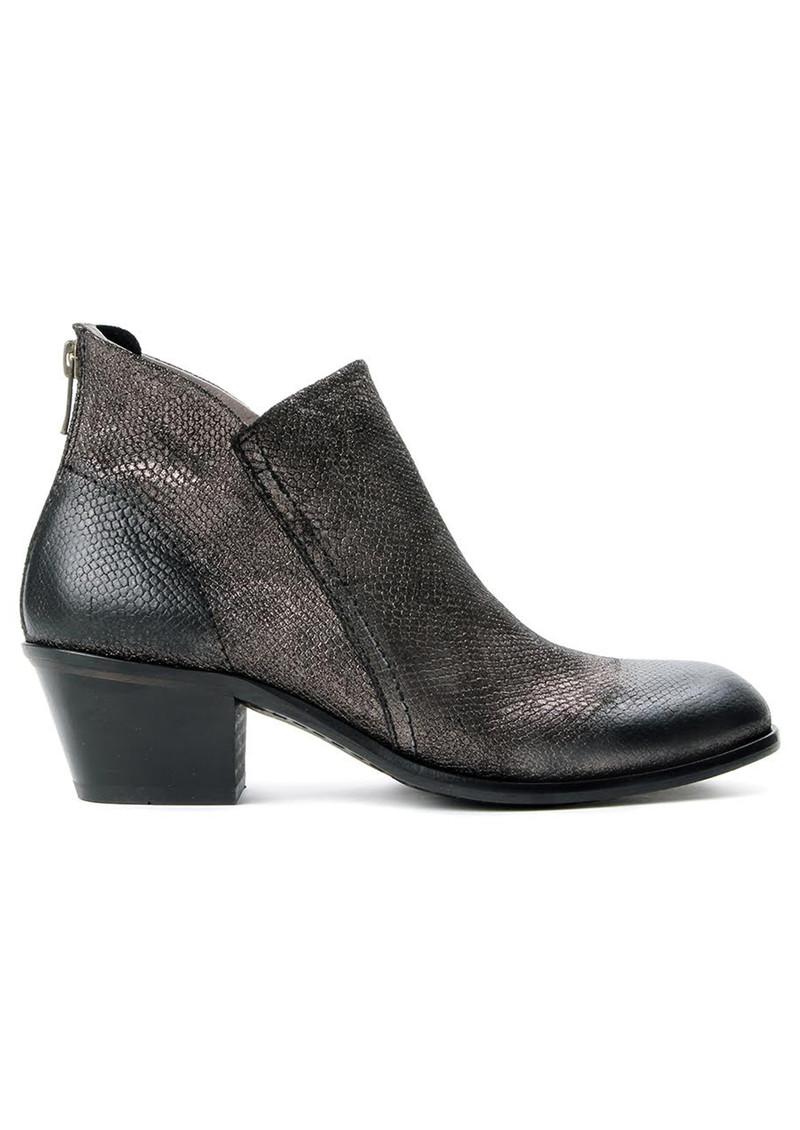 Hudson London Apisi Metallic Leather Boot - Pewter main image