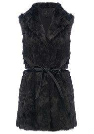 Unreal Fur Fusion Vest - Black