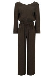 American Vintage Doly City Jumpsuit - Candied Chesnut Little Dots
