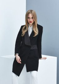 GRACE & OLIVER Victoria Coat - Black