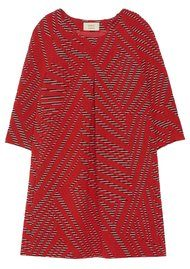 Ba&sh Talweg Dress - Rouge