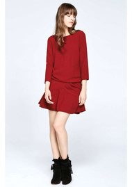 Ba&sh Isla Dress - Bordeaux