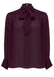 Ba&sh Nana Shirt - Purple