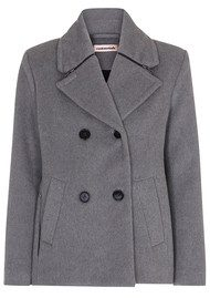 CUSTOMMADE Rici Coat - Grey Melange