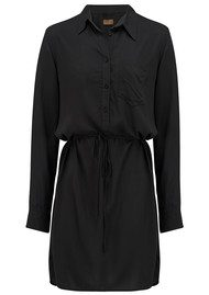 REIKO Taylor Colour Shirt Dress - Carbon