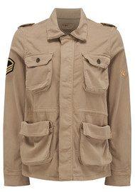 REIKO Army Jacket - Beige