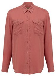 REIKO Cody Colour Shirt - Blush