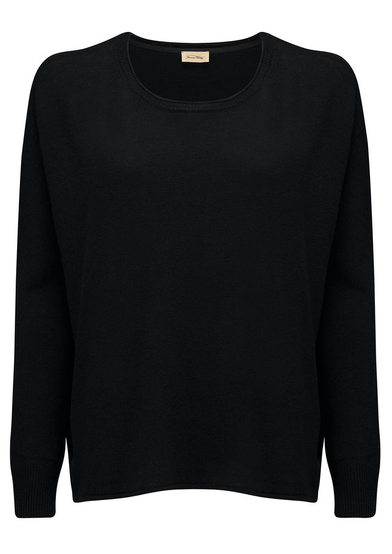 American Vintage Svansky Pullover - Black main image