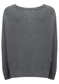American Vintage Svansky Pullover - Heather Grey