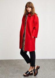 Celeste Coat - Red