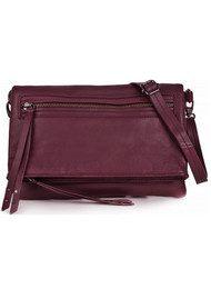 Becksondergaard Anna-Beth Single Leather Bag - Burgundy