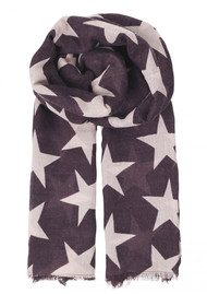 Becksondergaard Supersize Nova Scarf - Plum Perfect