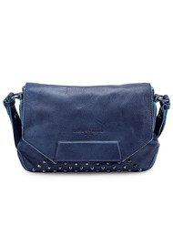Liebeskind Yokote Studded Leather Bag - Indigo Blue
