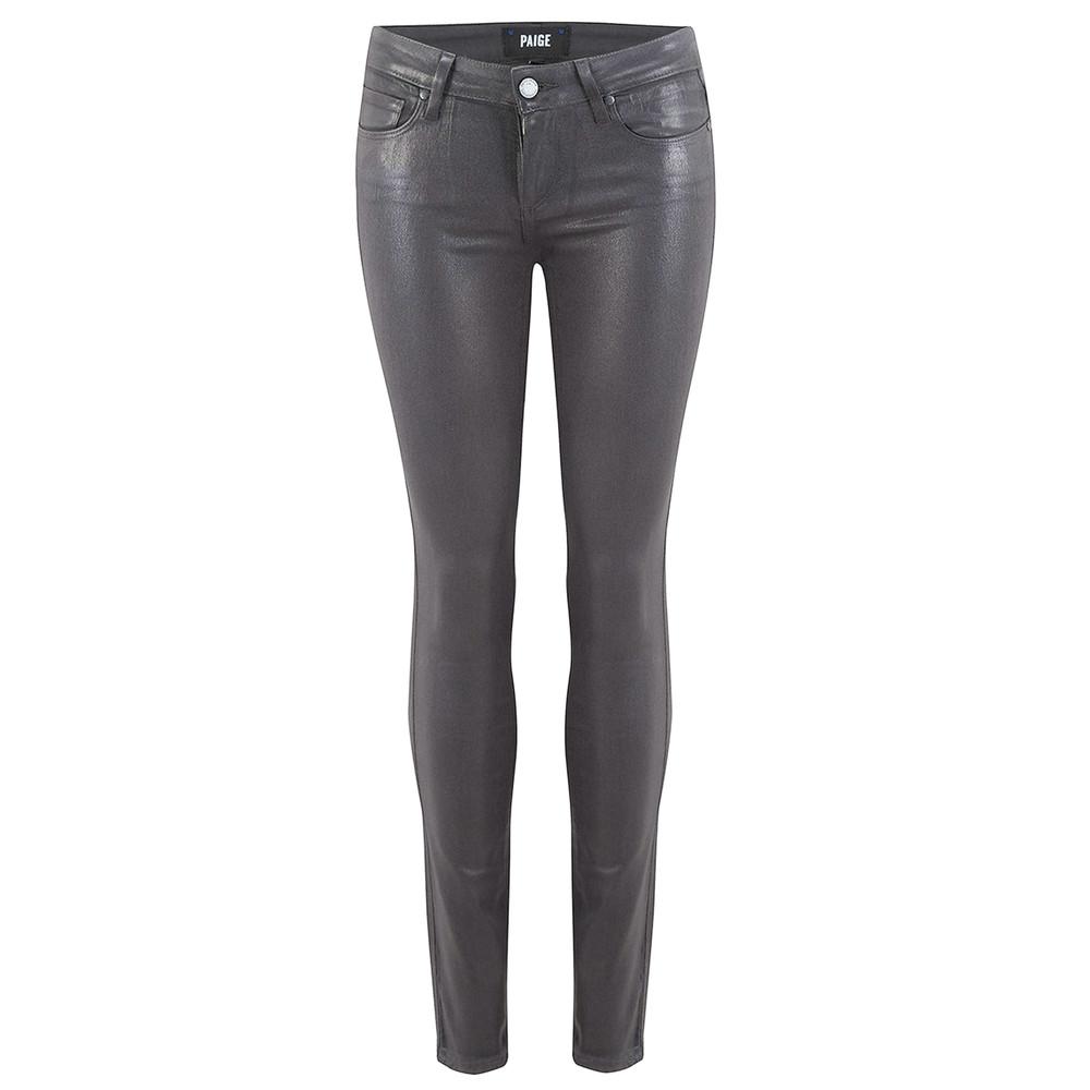 Verdugo Ultra Skinny Luxe Coated Jeans - Smoke Grey