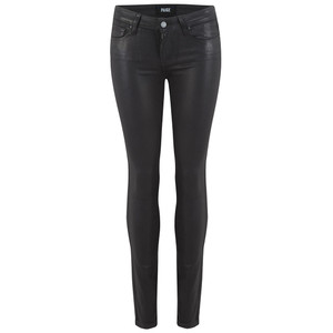 Verdugo Ankle Luxe Coating Jeans - Black Fog