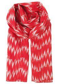 Becksondergaard Chanez Cotton Scarf - High Risk Red