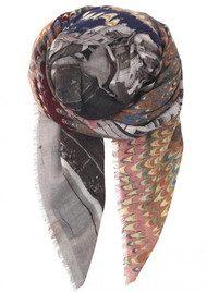 Becksondergaard Petal Wool Scarf - Multi