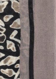 Becksondergaard Laleh Wool And Cashmere Blend Scarf - Black