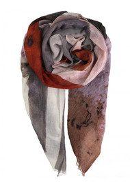 Becksondergaard Falcon Wool Scarf - Elderberry
