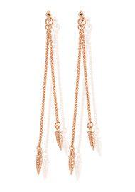 ChloBo Gypsy Dreamer Tarantella Drop Earrings - Rose Gold