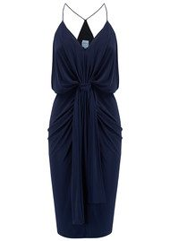 MISA Los Angeles Domino Spaghetti Strap Dress - Midnight Navy