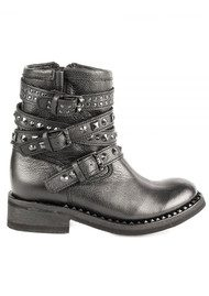 Ash Tatoo Biker Boot - Black